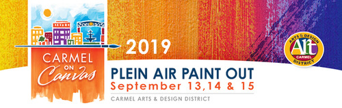 "Discover Art Creations From Paint Stroke To Masterpiece During Carmel's Sixth Annual Popular 'Carmel on Canvas' Open Plein Air Art Painting Event  This Saturday, September 14th! Enjoy 40 Popular Bands Play Throughout Carmel Porches at ""PorchFest"" on Sunday, September 15th!"